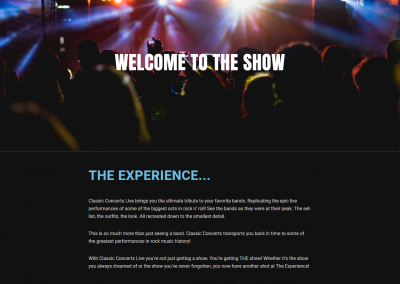 Classic Concerts Live Website Image
